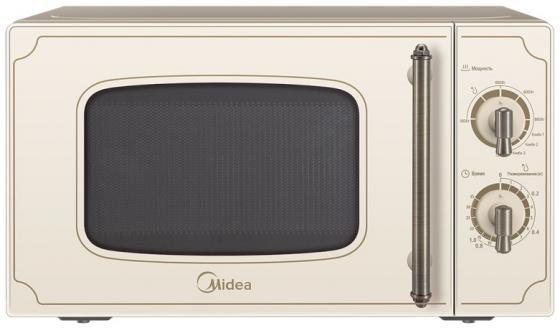 Микроволновая печь Midea MG820CJ7-I1 800 Вт бежевый микроволновая печь с грилем midea ag820cww w