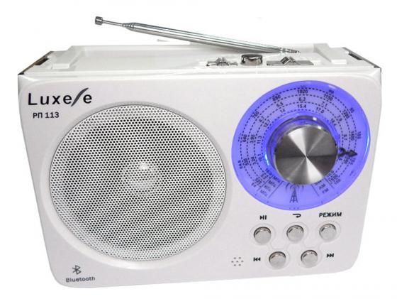 Радиоприемник Сигнал Luxele РП-113 белый радиоприемник luxele рп 113