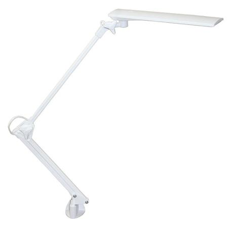 Настольная лампа Трансвит Sirius C16C/Wh белый 6.5 Вт струбцина