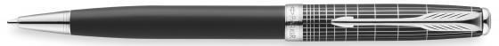 Шариковая ручка поворотная Parker Sonnet K536 черный M цена