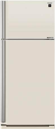 Холодильник Sharp SJXE59PMBE бежевый все цены
