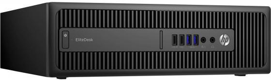 Системный блок HP EliteDesk 800 i5-6500 3.2GHz 4Gb 500Gb HD530 DVD-RW Win7Pro Win10Pro клавиатура мышь черный P1G46EA