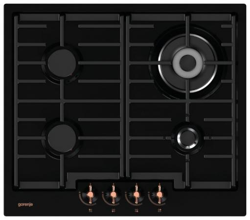 Варочная панель газовая Gorenje GW6NINB черный варочная панель электрическая gorenje ect693orab черный