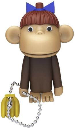 Флешка USB 16Gb ICONIK Обезьяна RB-MONKEY-16GB usb flash drive 16gb iconik снеговик rb sm1 16gb