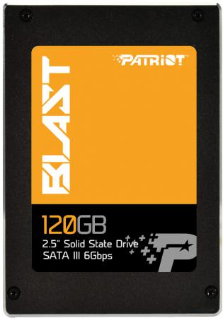 Твердотельный накопитель 2.5 120GB Patriot Blast Read 560Mb/s Write 425Mb/s SATAIII PBT120GS25SSDR твердотельный накопитель 2 5 128gb patriot spark read 560mb s write 545mb s sataiii psk128gs25ssdr