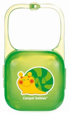 Контейнер для пустышки Canpol 2/927 с рождения зеленый блокиратор для двери canpol babies 2 691 230821007