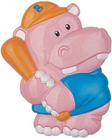 Держатель для пустышки Canpol 3D-животные Бегемот с рождения розовый 2/415 canpol babies клипса держатель для пустышек 0 canpol babies розовый