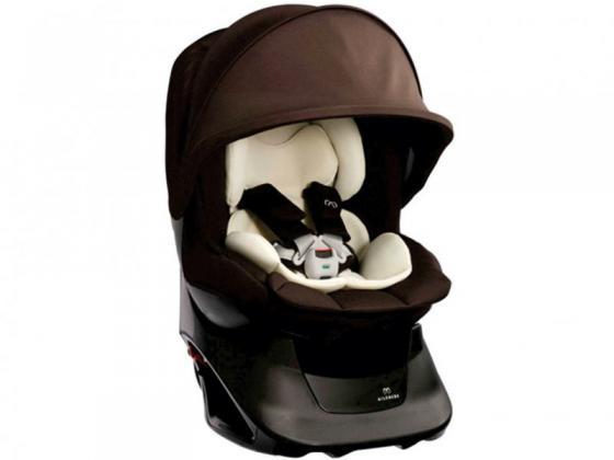 Автокресло Carmate/Ailebebe Kurutto NT2 Premium (коричневое) автокресло carmate ailebebe cute fix черно розовое aib754e