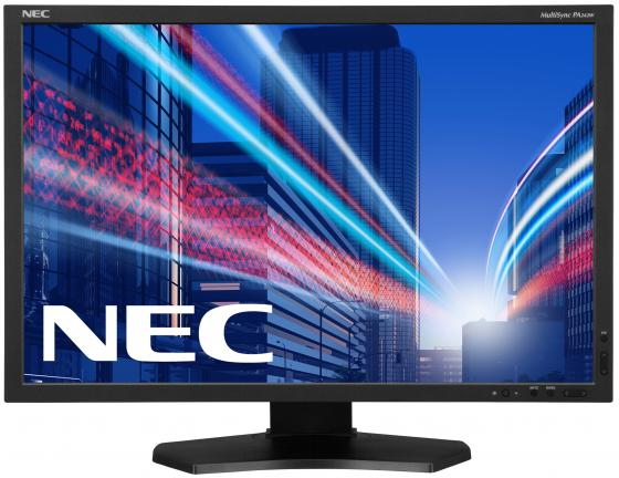Монитор 24 NEC PA242W-SV2 черный AH-IPS 1920x1200 340 cd/m^2 8 ms DVI HDMI DisplayPort VGA USB монитор 30 nec pa302w bk sv2 ah ips led 2560x1600 7ms dvi hdmi displayport