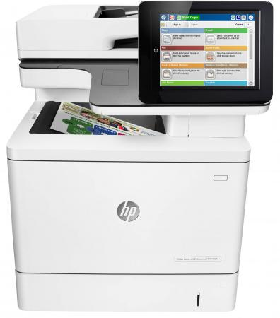 МФУ HP LaserJet Enterprise MFP M577f B5L47A цветное A4 38ppm 1200x1200dpi Duplex Ethernet USB чехол для для мобильных телефонов sc co iphone 4 4s 5 5s 6 6 for iphone 4 4s 5 5s 6 6 plus page 8