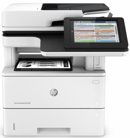 все цены на МФУ HP LaserJet Enterprise MFP M527f F2A77A ч/б A4 43ppm 1200x1200dpi Duplex Ethernet USB онлайн