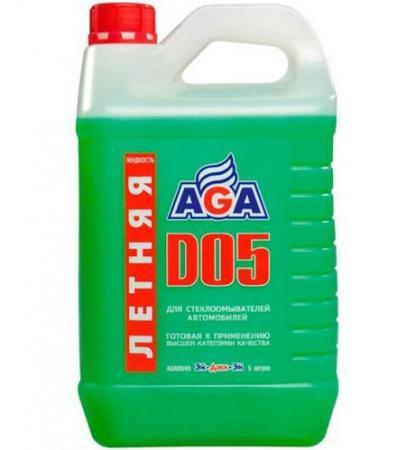 цена на Жидкость летняя омывателя стекла AGA 110 D 4л