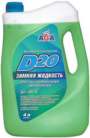 Незамерзающая жидкость AGA 079 D 4л