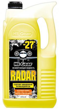 Незамерзающая жидкость Hi Gear HG 5688 RADAR-27 салфетки hi gear hg 5583 освежающие