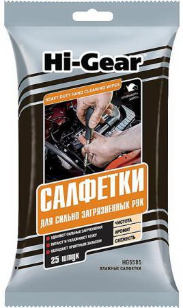 Салфетки Hi Gear HG 5585 полироль для панели hi gear hg 5615 очиститель интерьера hg 5619