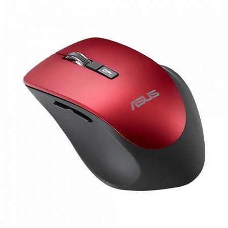 лучшая цена Мышь беспроводная ASUS WT425 красный USB + Bluetooth 90XB0280-BMU030