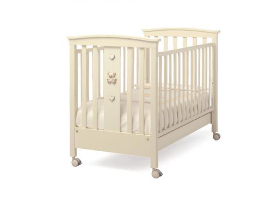 Кроватка Erbesi Jolie (слоновая кость) erbesi детская кроватка на колесиках erbesi jolie