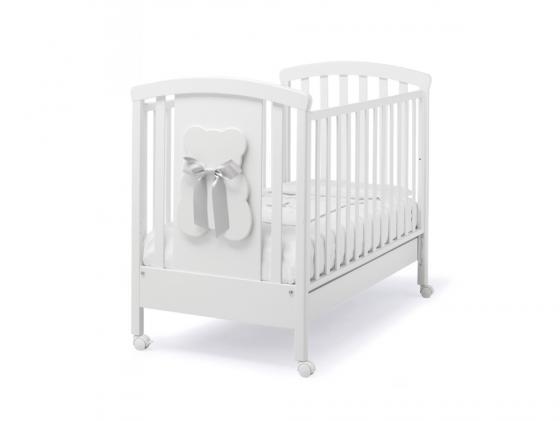 Кроватка Erbesi Bubu (белый/белый) цена