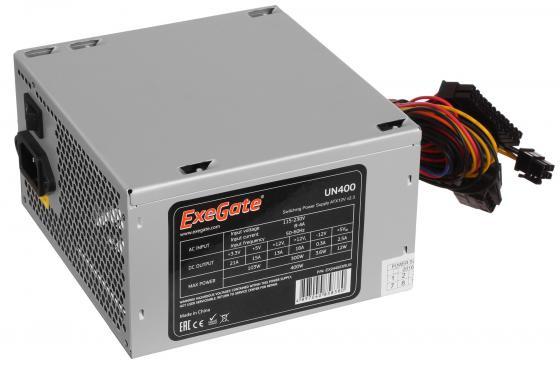 Блок питания ATX 400 Вт Exegate UN400 EX244553RUS цена и фото