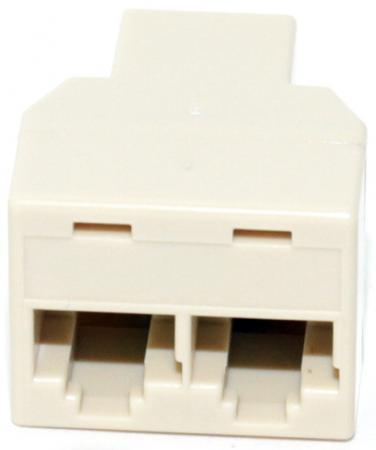 Адаптер проходной RJ-45 8P8C F/2F 5bites LY-US027 planet nails фимо декор в нарезке карусель 8 видов фимо декор в нарезке карусель 12 видов 1 шт 3