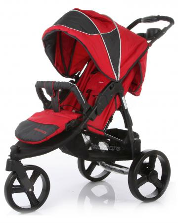 baby jogger прогулочная коляска city elite single baby jogger красный Прогулочная коляска Baby Care Jogger Cruze (red)