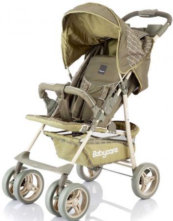 Прогулочная коляска Baby Care Voyager (olive checkers) прогулочная коляска baby care shopper grey