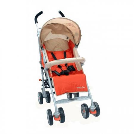 Коляска-трость Baby Care Polo 107 (light teracote) прогулочная коляска cool baby kdd 6699gb t fuchsia light grey