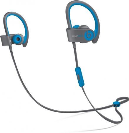 все цены на  Bluetooth-гарнитура Apple Beats Powerbeats 2 WL Active Collection серый голубой  онлайн