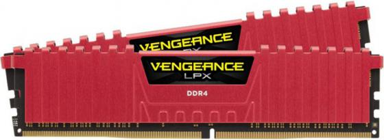 Оперативная память 8Gb (2х4Gb) PC4-17000 2133MHz DDR4 DIMM Corsair CMK8GX4M2A2133C13R