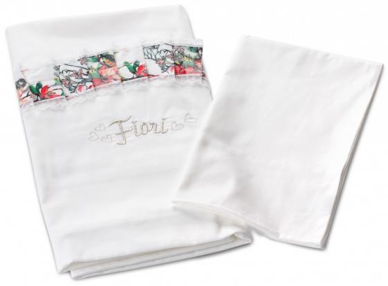 Постельный сет 6 предметов Nuovita Fiori (белый) шторы интерьерные олимп текстиль шторы бретань