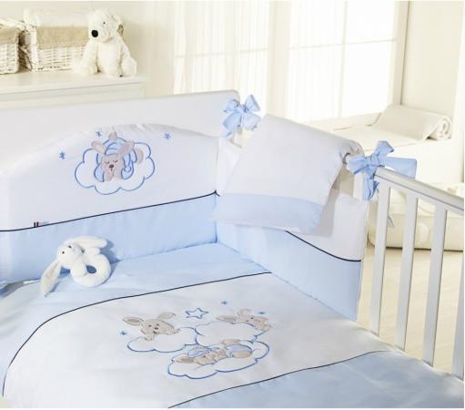 Постельный сет 6 предметов Feretti Sestetto Etoile (blu) feretti детская etoile dargent белая