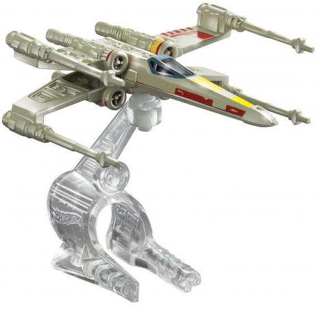 Звездолет Hot Wheels Star Wars X-Wing Fighter CGW52 hot wheels модель звездного корабля y wing fighter gold leader cgw52 cgw53