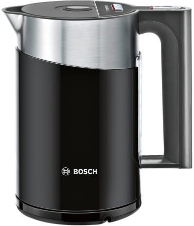 Чайник Bosch TWK861P3RU 2400 Вт 1.5 л металл/пластик чёрный