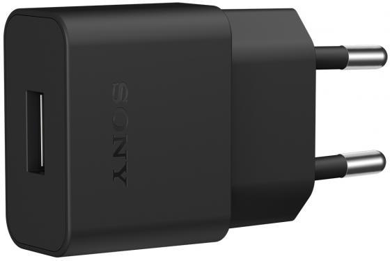 Сетевое зарядное устройство Sony UCH20 1.5А microUSB черный