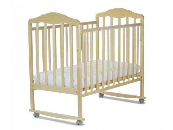 Кроватка-качалка СКВ Березка (бежевый/120119) кровать детская скв компани березка бежевый 120119