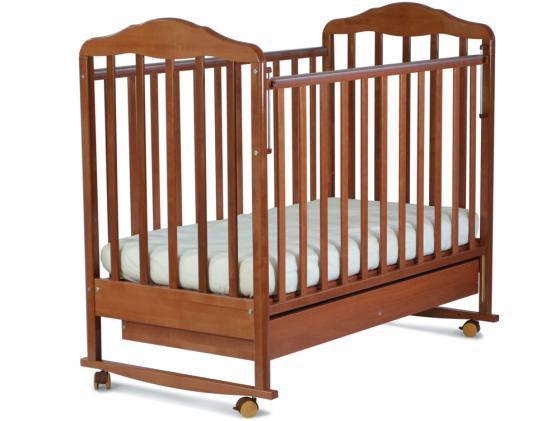 Кроватка-качалка СКВ Березка (бук/121116) кроватка ковчег скв 9 94003x