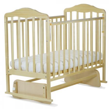 Кроватка с маятником СКВ Березка (береза/124005) кроватка скв березка 120119 бежевый