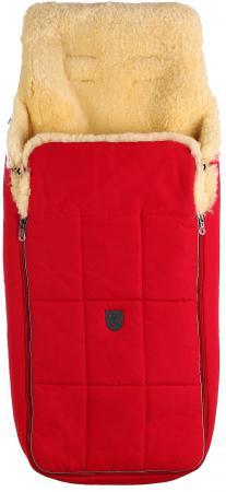 Конверт из овчины для новорожденных Christ Arosa (802/красный) конверт детский christ меховой конверт tula из овчины sahara