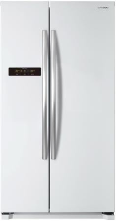 лучшая цена Холодильник DAEWOO FRN-X22B5CW белый