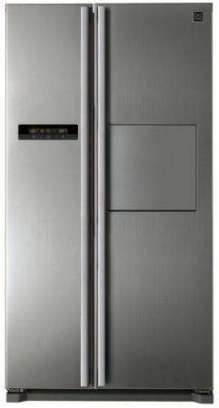 Холодильник DAEWOO FRN-X22H4CSI серебристый холодильник daewoo electronics frn x22h5cw