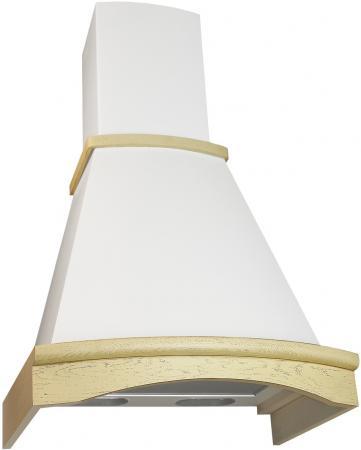Вытяжка каминная Electrolux Ротонда 50П-650-П3Л бежевый неокрашенный дуб цена и фото