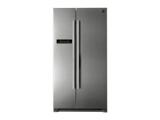 Холодильник DAEWOO FRN-X22B5CSI серебристый холодильник daewoo electronics frn x22b5csi