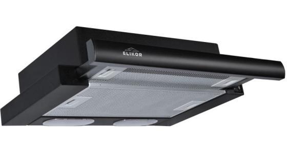 Вытяжка встраиваемая Elikor Интегра 45П-400-В2Л черный вытяжка elikor интегра 45 черный черный