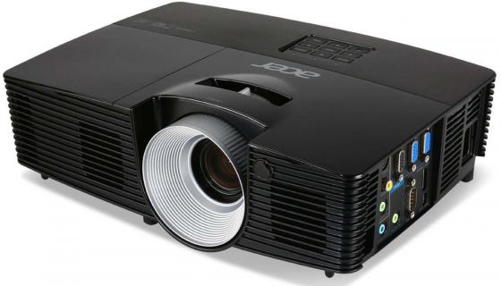 Проектор Acer P1287 DLP 1024x768 4200Lm 17000:1 VGA HDMI S-Video RS-232 MR.JL411.001 проектор canon lv x310st dlp 1024x768 3100lm 10000 1 vga s video hdmi rs 232 0911c003