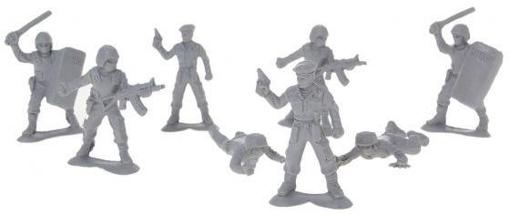 цены Набор фигурок Биплант Солдатики Российский спецназ 8 шт 6.5 см 12021