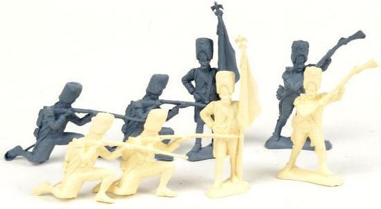 Набор фигурок Биплант Солдатики Армия 1812 года 8 шт 6.5 см 12022 glavnye provaly 2016 goda