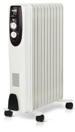Масляный радиатор BALLU Classic BOH/CL-11WRN 2200 Вт белый радиатор ballu boh cl 11wrn