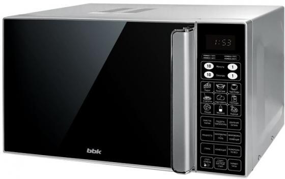 Микроволновая печь BBK 23MWC-982S/SB-M 900 Вт чёрный серебристый микроволновая печь bbk 23mws 927m w 900 вт белый