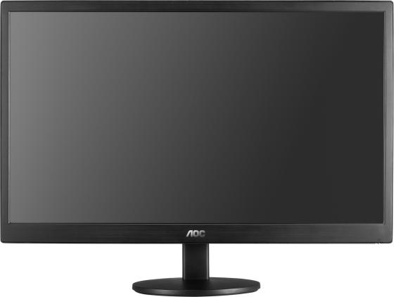 Монитор 21.5 AOC E2270SWDN черный TN 1920x1080 200 cd/m^2 5 ms VGA монитор aoc 31 5