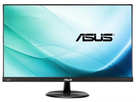Монитор 23 ASUS VP239H черный IPS 1920x1080 250 cd/m^2 5 ms DVI HDMI VGA Аудио 90LM01U0-B01670 монитор 23 8 philips 240v5qdab черный ads ips 1920x1080 250 cd m^2 5 ms dvi hdmi vga аудио